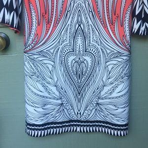 Haani Dresses - HAANI- size medium boho coral stretchy dress